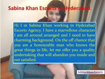 Best Independent Call Girls In Hyderabad