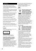 Sony MAP-S1 - MAP-S1 Consignes d'utilisation Finlandais - Page 2