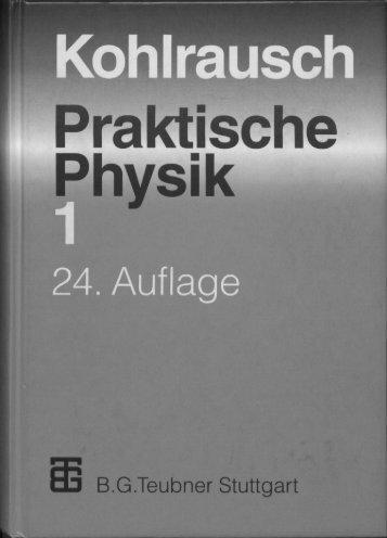 Praktische Physik - PTB