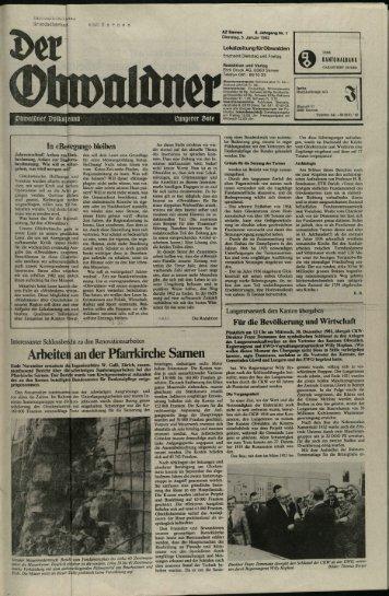 Obwaldner Volksfreund 1982