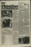 Obwaldner Volksfreund 1982 - Page 7