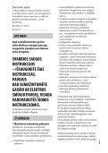 Sony ILCE-6300 - ILCE-6300 Mode d'emploi Lituanien - Page 3