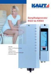 Bedienungsanleitung - Alfred Kaut GmbH + Co.