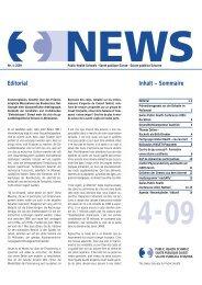 Fachgruppe Global Health: neu lanciert - Public Health Schweiz