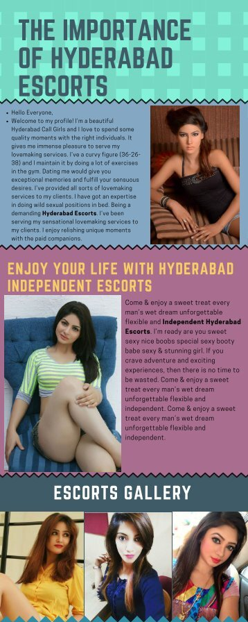 Offer the best Sensual pleasure services in Hyderabad
