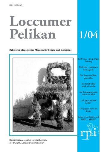 Religionspädagogisches Magazin für Schule und Gemeinde