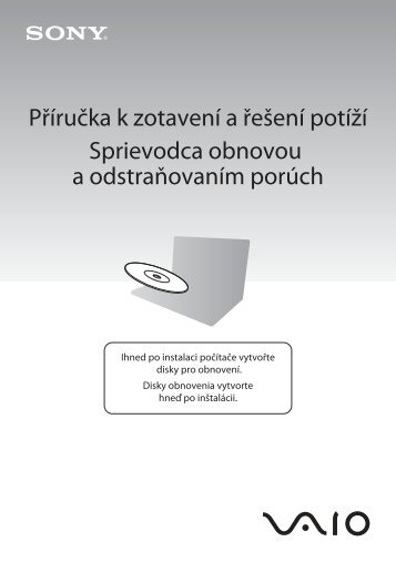 Sony VPCEC1Z1E - VPCEC1Z1E Guide de dépannage Slovaque