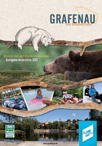 Grafenau Gastgeberverzeichnis 2017