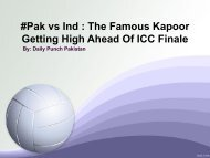 Pak vs Ind The Famous Kapoor Getting High Ahead Of ICC Finale