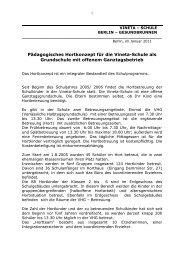 Hortkonzept 2011 Download - der Vineta-Schule in Berlin Mitte