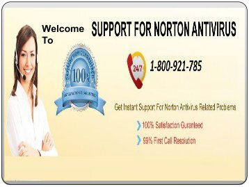 Be free! Get 24*7 Norton technical supports