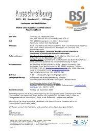 Bayerische Sportjugend im BLSV, Georg-Brauchle-Ring 93, 80992 ...