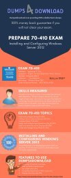 70-410 Exam Question Infographic