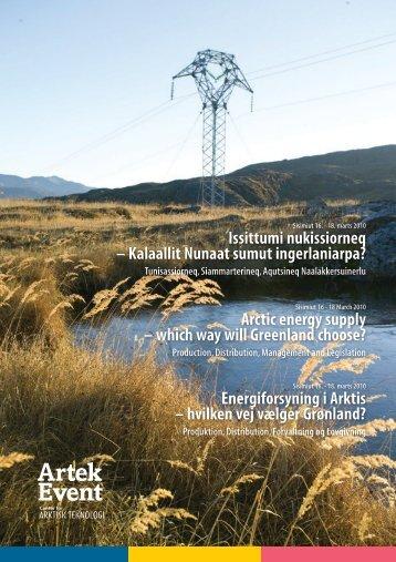 Energiforsyning i Arktis – hvilken vej vælger Grønland? - Artek ...