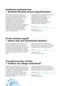 Energiforsyning i Arktis – hvilken vej vælger Grønland? - Artek ... - Page 6