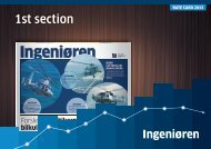 Engineering Weekly 1st section - Mediehuset Ingeniøren