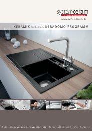 Systemceram - Küchenausttattung