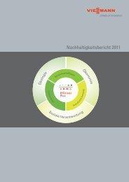 Nachhaltigkeitsbericht 2011 - Viessmann