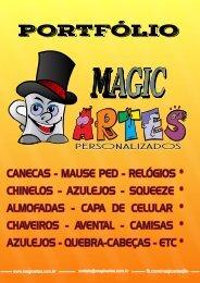 portifolio produtos magic artes