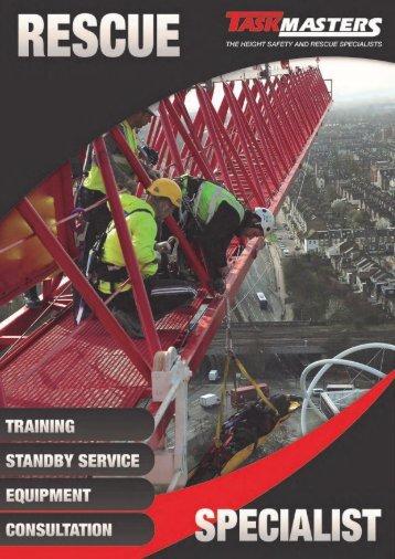 Taskmasters Rescue Brochure 2017