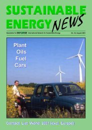 SEN 34 pdf - International Network for Sustainable Energy