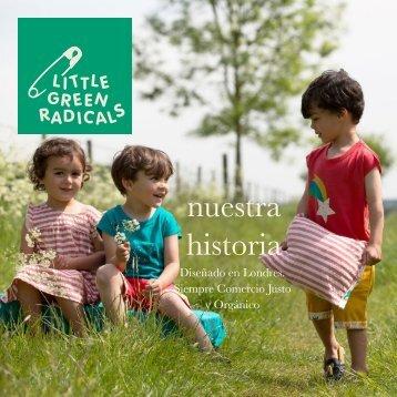 Little Green Radicals Brand Book Spanish
