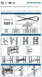 Montageanleitung • Assembly Instructions • Notice de montage