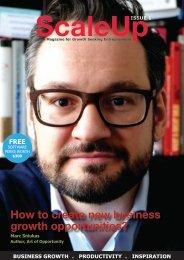 ScaleUp Magazine Issue 1
