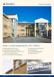 Kontor | Gunnar Clausens Vej 34 | 176 - 11.000 m2 - Aberdeen
