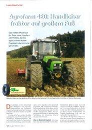 Trestbericht Agrofarm 420