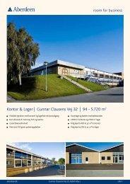 Kontor & Lager | Gunnar Clausens Vej 32 | 94 - 5.720 m2 - Aberdeen