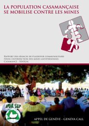 la population casamançaise se mobilise contre les ... - Geneva Call