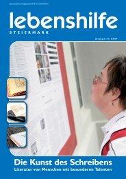 Die Kunst des Schreibens - Lebenshilfe Steiermark