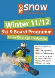 Winter 11/12 - PRO Snow