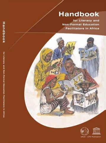 Handbook for literacy and non-formal education ... - unesdoc - Unesco