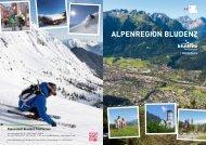 Urlaub in der Alpenregion Bludenz