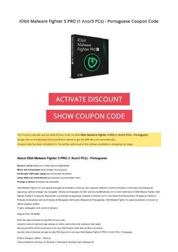 Iobit discount coupon