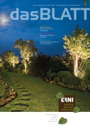 Newsletter 02/12 - ERNI Gartenbau