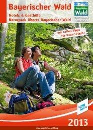 furth im wald – hohenbogen-winkel - Naturpark Oberer Bayerischer ...