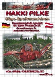 HAKKI PILKE 2X - Forsttechnik