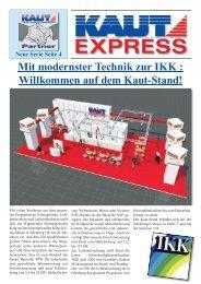 auf dem Kaut-Stand! - Alfred Kaut GmbH + Co.