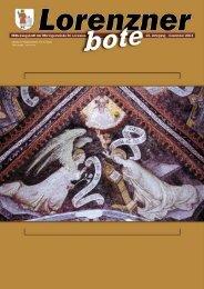 Lorenzner Bote - Ausgabe Dezember 2004 (1,77MB) (0