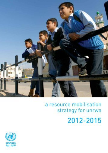 a resource mobilisation strategy for unrwa