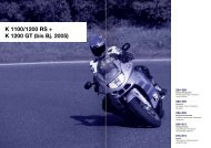 K 1100/1200 RS + K 1200 GT (bis Bj. 2005) - REF Motorsport