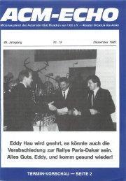 echo-1987-12 - ACM Automobilclub München von 1903 e. V.