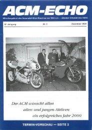 Ältester - ACM Automobilclub München von 1903 e. V.