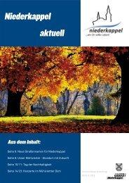 Niederkappel Aktuell Herbst 2011