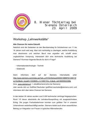 Download Handout (pdf) - Siemens Österreich