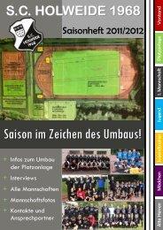 Jugend K ader 2011/2012 - SC Holweide 1968 eV