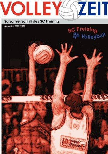 Saisonzeitung 2007 / 2008 - SC Freising